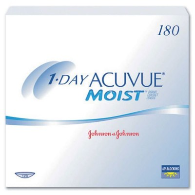 1-DAY ACUVUE MOIST (180 PACK)