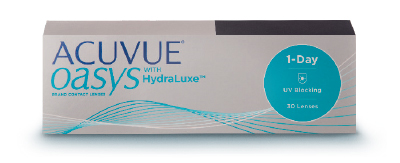 ACUVUE OASYS 1-DAY WITH HYDRALUXE (30 PACK)