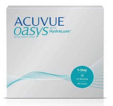 Acuvue Oasys 1-Day with HydraLuxe - 90 pack