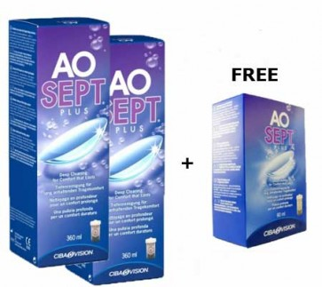 AOSept Plus Solution - 3 months supply