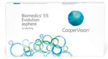 Biomedics 55 Evolution