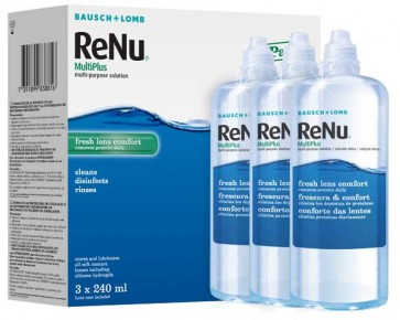 Renu Multiplus 3 x 240ml bottles