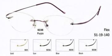 Sunoptic Rimless Glasses