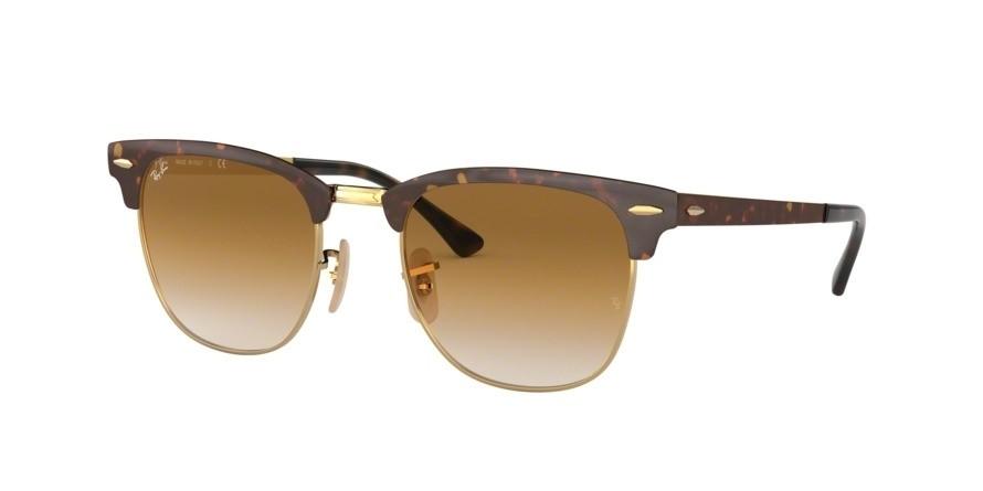 Ray Ban 0rb3716 Clubmaster Metal Sunglasses At Posh Eyes
