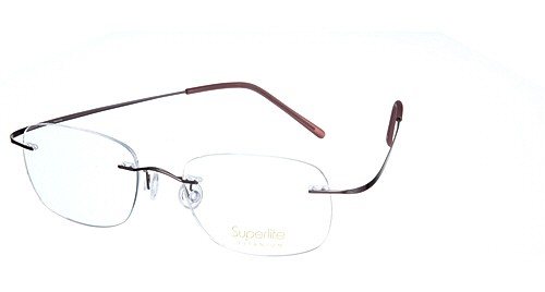 Superlite Titanium Rimless And Hingeless Glasses With The