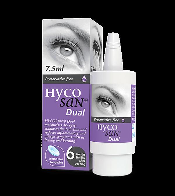 Hycosan Dual Eye Drops