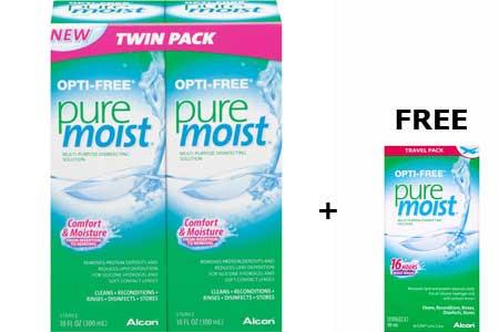 OPTI-free Puremoist Solution
