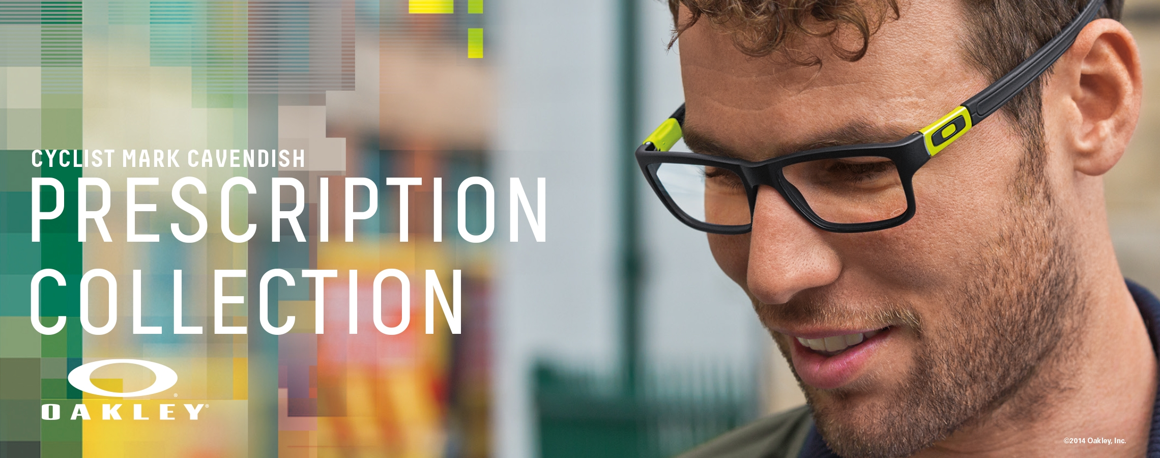 Mark Cavendish Wears Oakley Prescription Glasses
