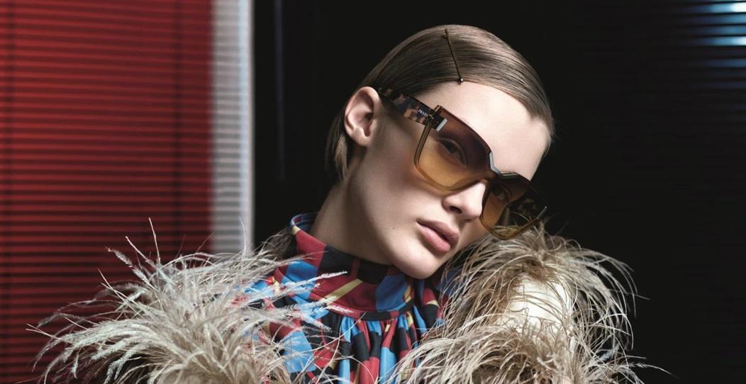 2f8dac0b7cd44 Posh Eyes Glasses and Contact Lenses Blog - Prada Futuristic Sunglasses